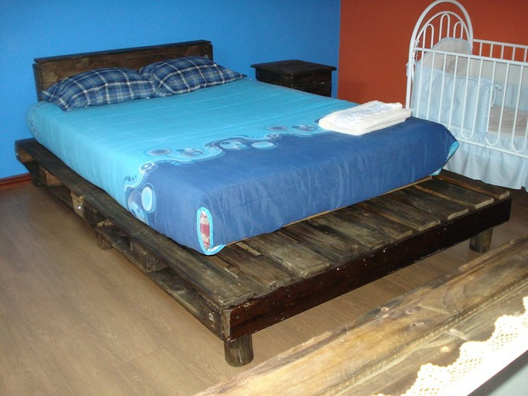 DIY Recycled Pallet Bed Ideas | Pallet Wood Projects