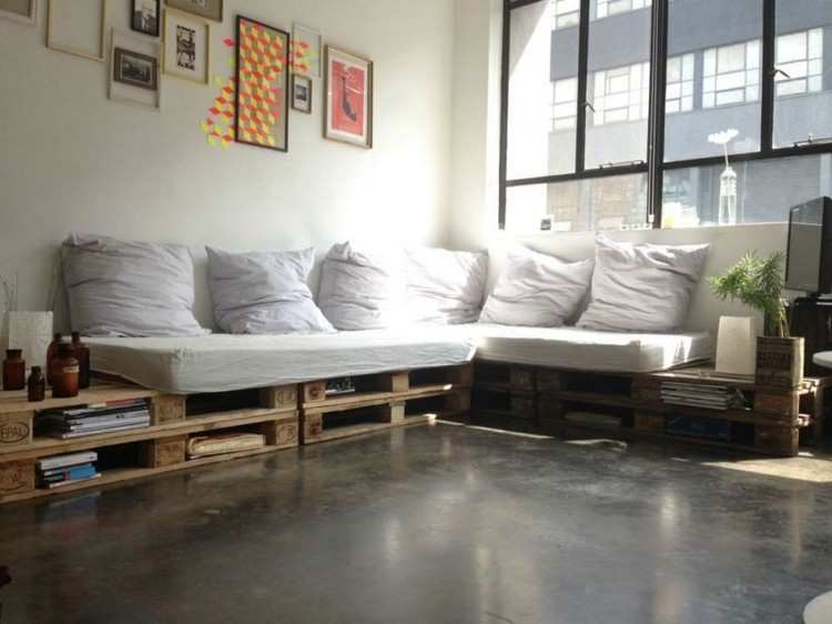 Wooden Pallet Couch Ideas