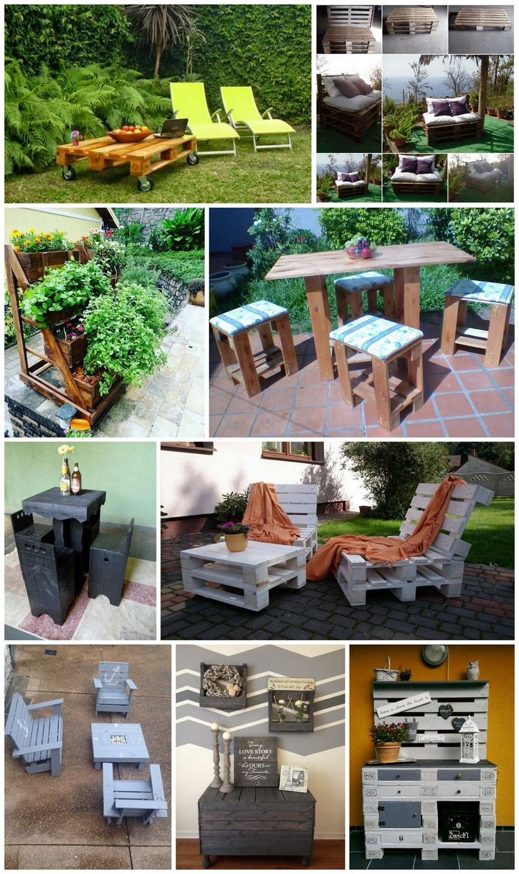 Amazing diy projects to upcycle wooden pallets pallet for Diy projects using wood pallets