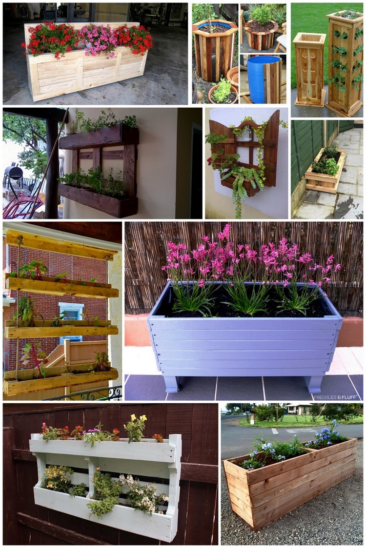 Brilliant Wood Pallet Planter Ideas
