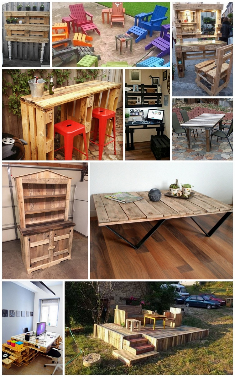 Cheap, Easy and Creative Recycled Pallet Ideas That Will Inspire You
