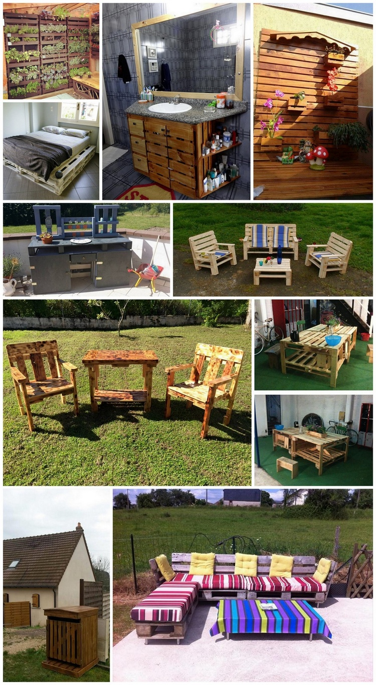 Creative Ideas and Ways to Recycle and Reuse Wooden Pallets