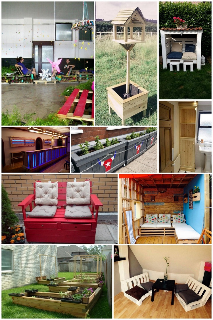 Genius Projects to Try With Wooden Pallets