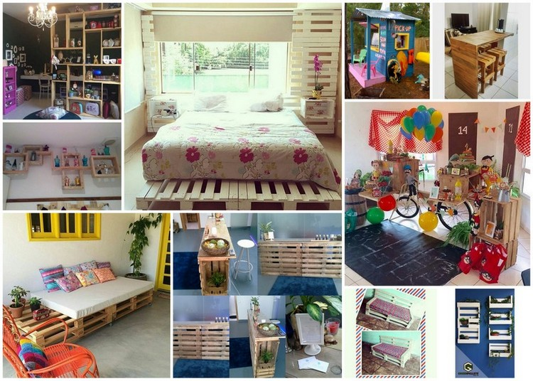 Great Ideas to Transform Pallets into Something Amazing