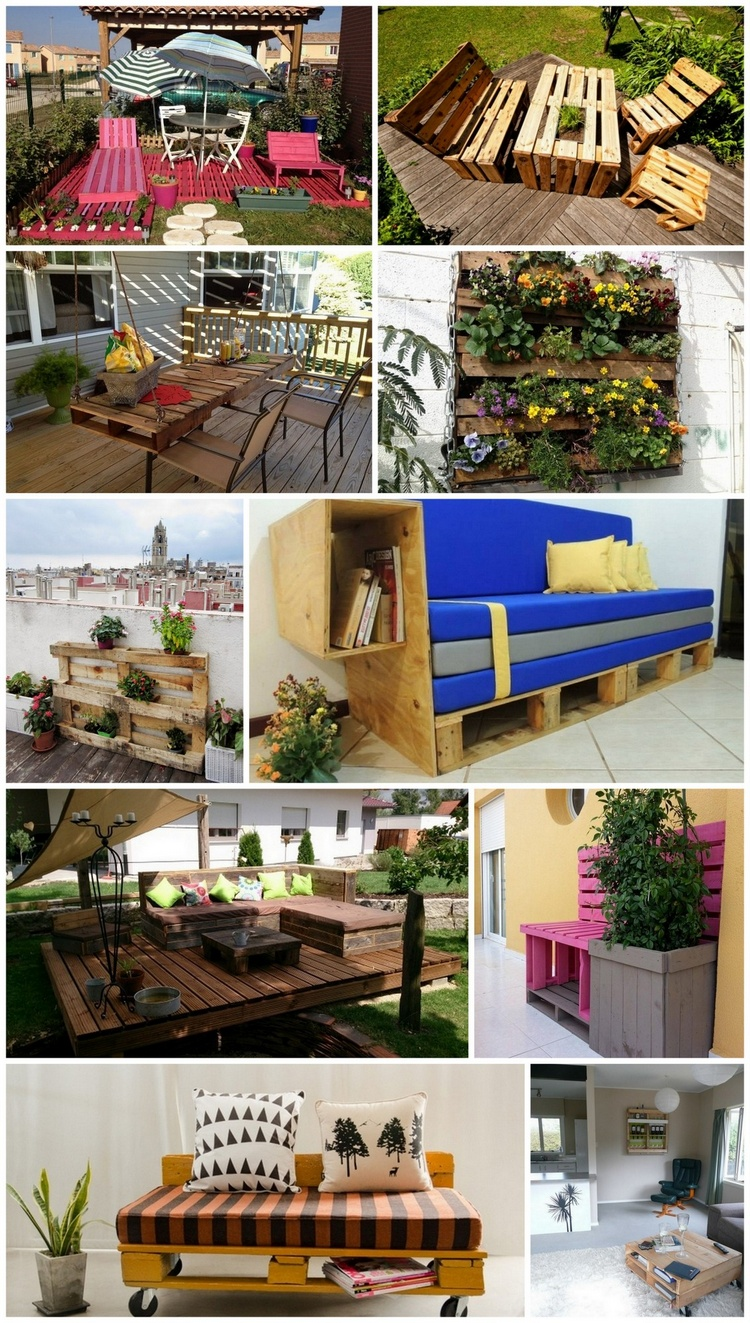 Inspiring Ideas for Pallet Wood Repurposing