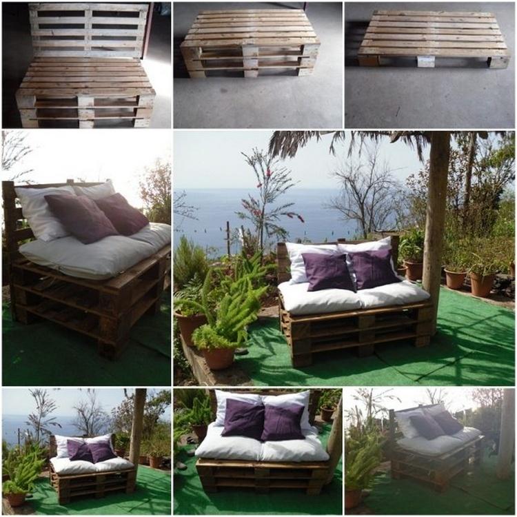 Pallet 2 Seat Sofa