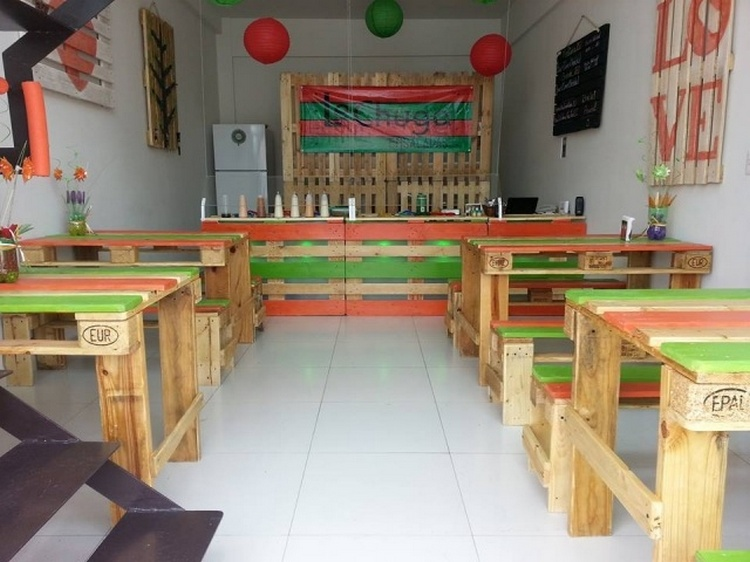 Pallet Cafe Furniture