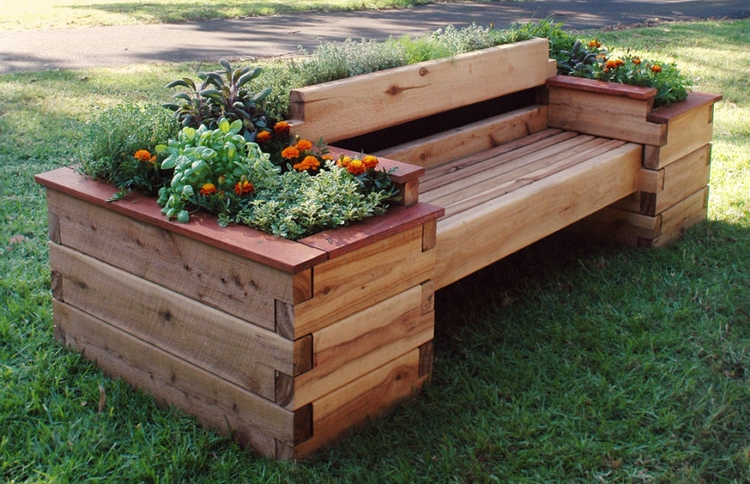 garden ideas using wooden pallets