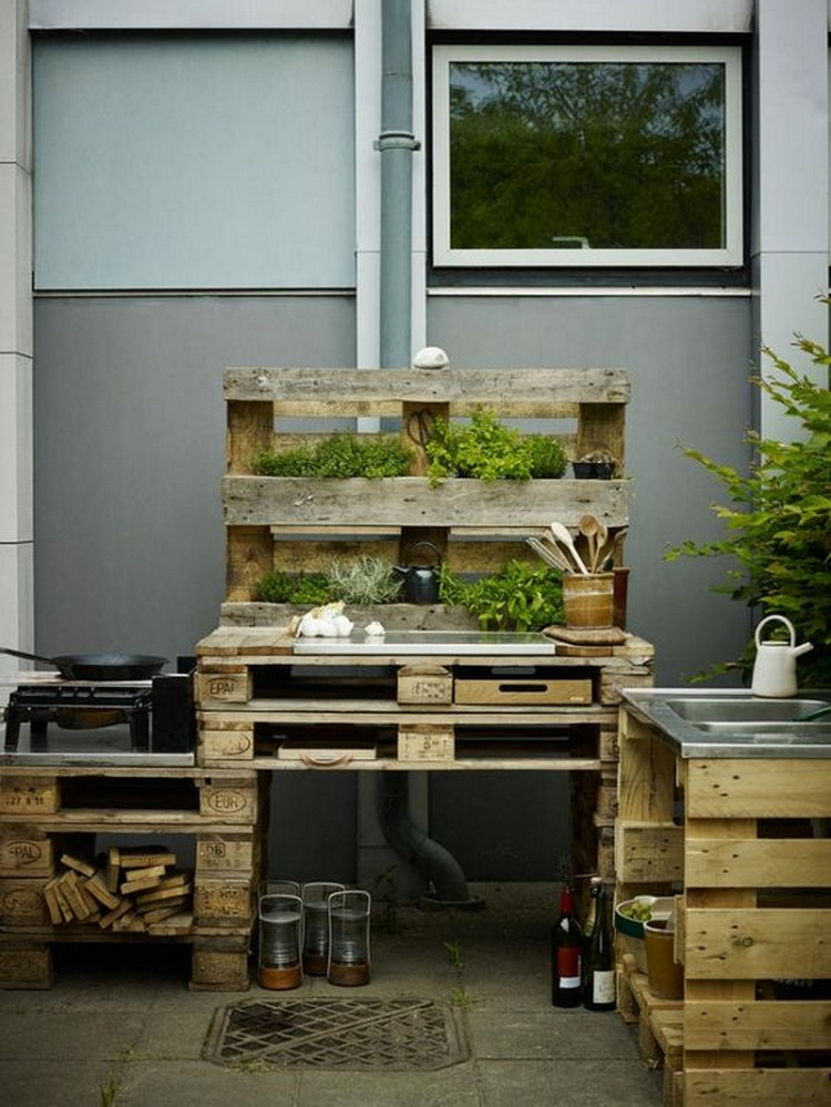 Pallet Outdoor Idea