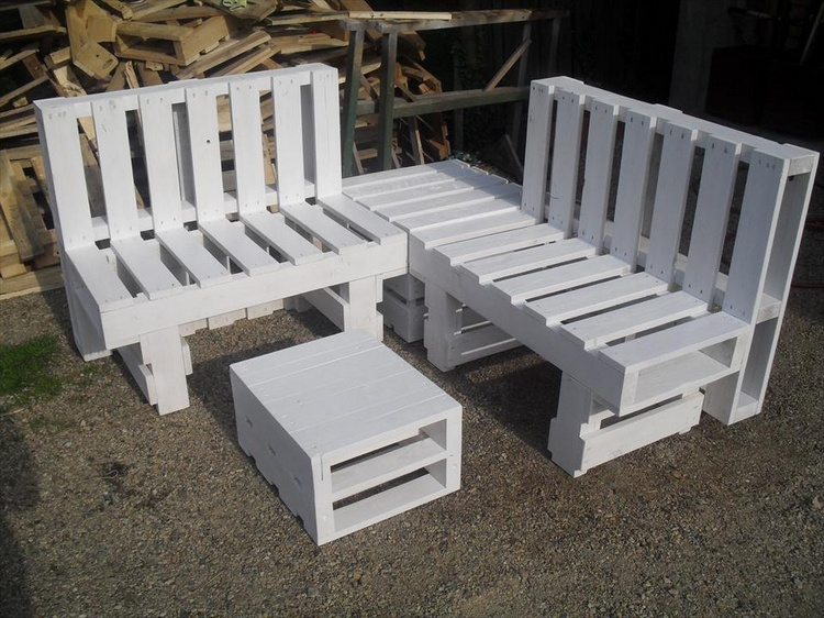 Pallet Patio Sitting