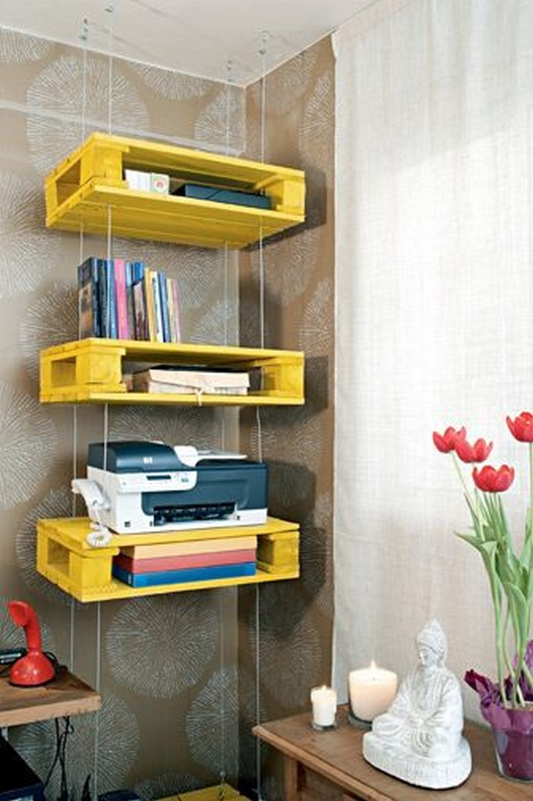 Shelves made with recycled wood pallets pallet wood projects for What can you make with recycled pallets