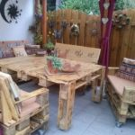 Pallet Wooden Patio Lounge