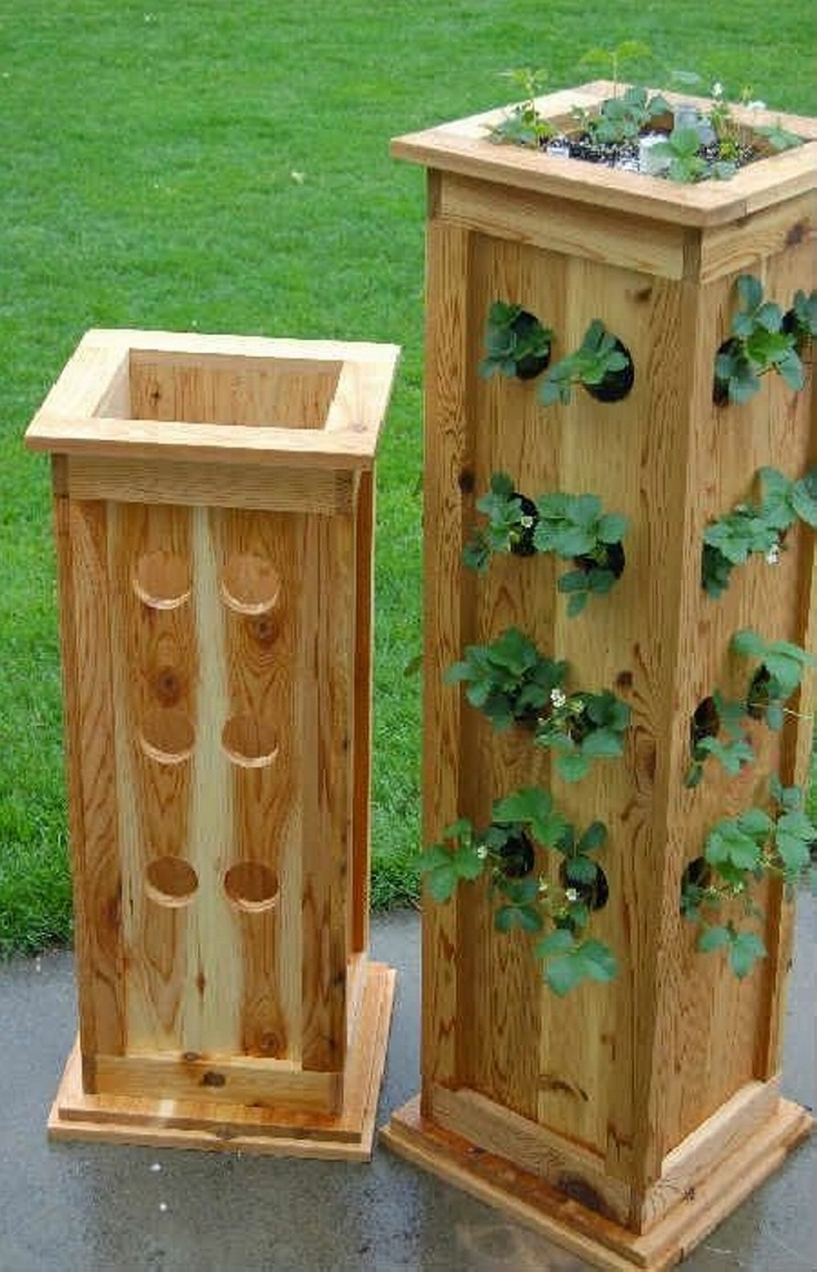 brilliant wood pallet planter ideas pallet wood projects. Black Bedroom Furniture Sets. Home Design Ideas