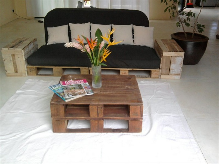 Whole Pallet Low Coffee Table