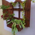 Window Style Pallet Planter