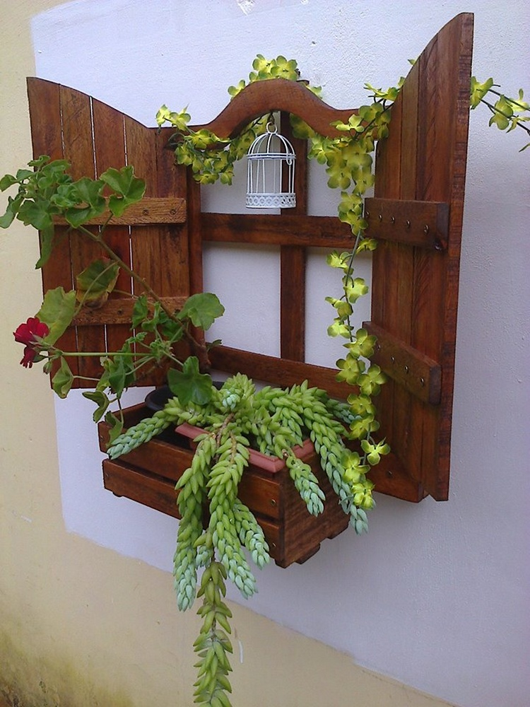 Brilliant Wood Pallet Planter Ideas Pallet Wood Projects