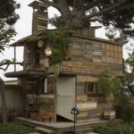 Wood Pallet Tree House