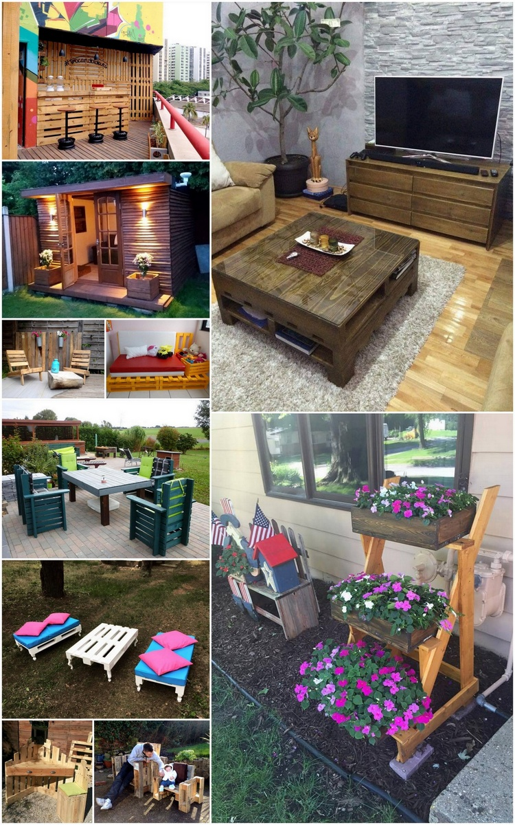 Cool Projects Made from Shipping Pallets Wood