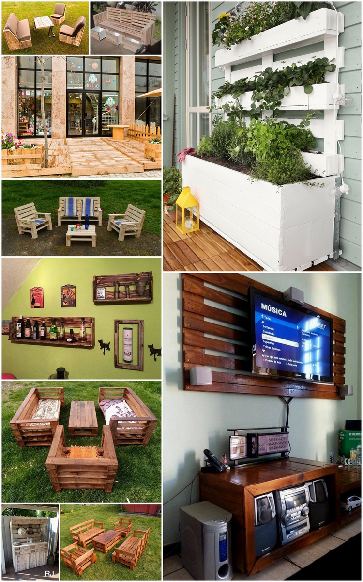 Customize Pallet Wood Upcycled Ideas
