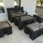 Cute Pallet Furniture Set
