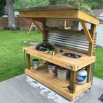 Pallet Garden Kitchen