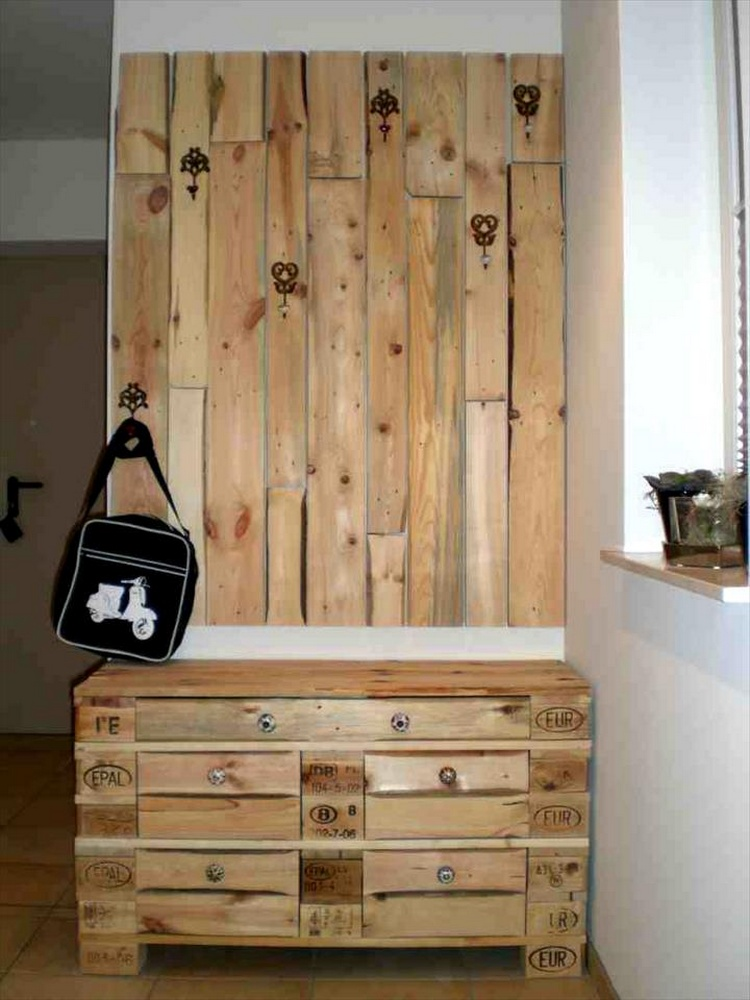 Easy Wood Pallet Ideas for the Home | Pallet Wood Projects
