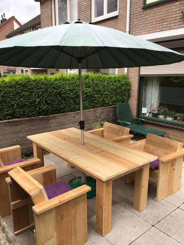 Pallet Patio or Deck Sitting Set