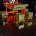 Pallet Wine Bar Idea