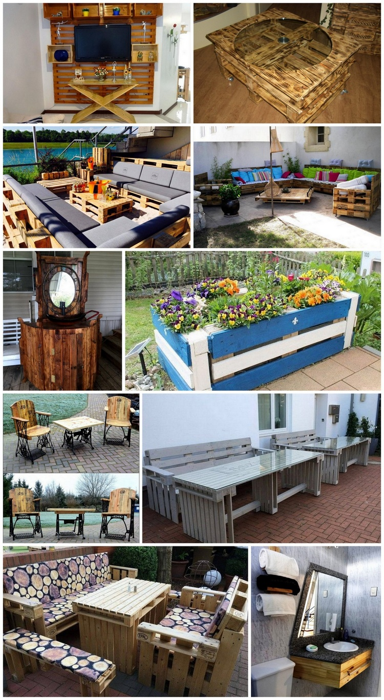 Things Made with Recycled Wood Pallets