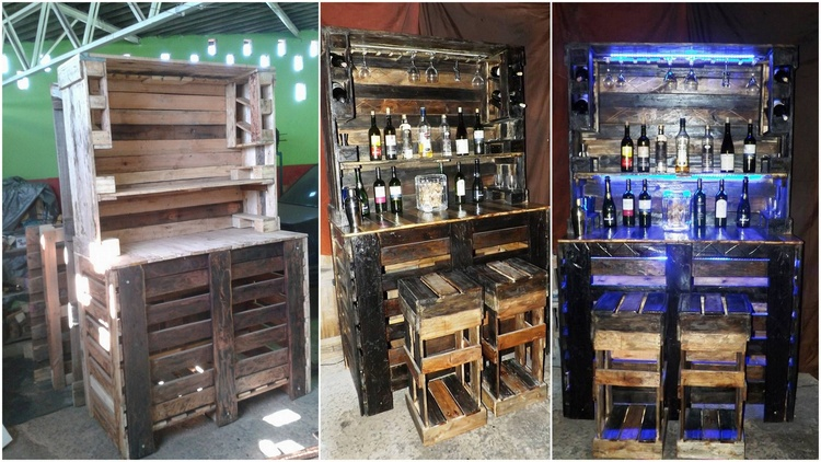 Reusing Ideas for Old Shipping Pallets   Pallet Wood Projects