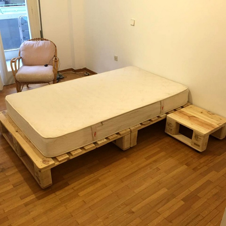 Ideas about Pallet Bed Frames | Pallet Wood Projects