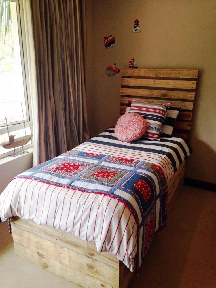 Wooden Pallet Toddler Bed