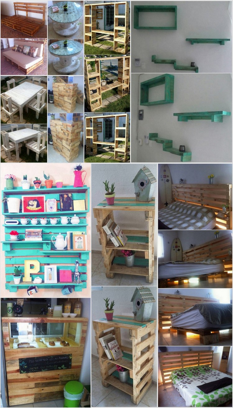 Affordable and Easy Wood Pallet Projects