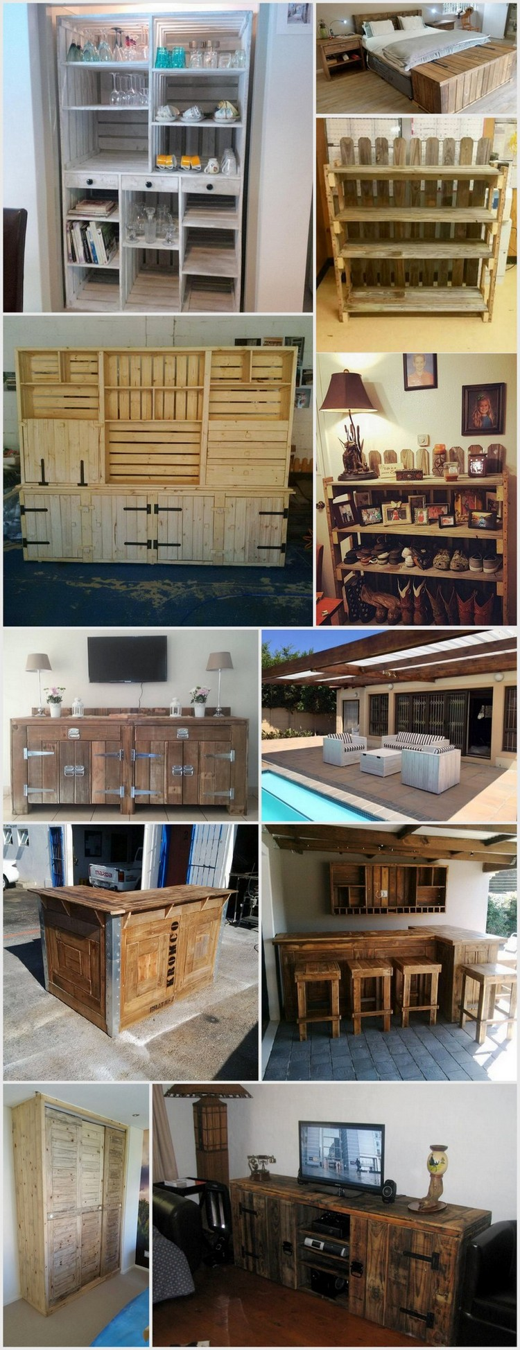 Creative, Cheap, and Easy Wood Pallet Projects