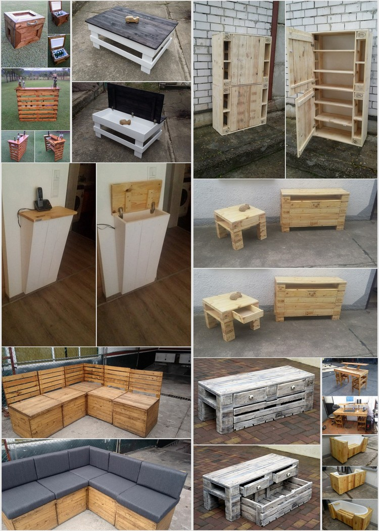 Creative Ideas for Recycled Wood Pallets Creative