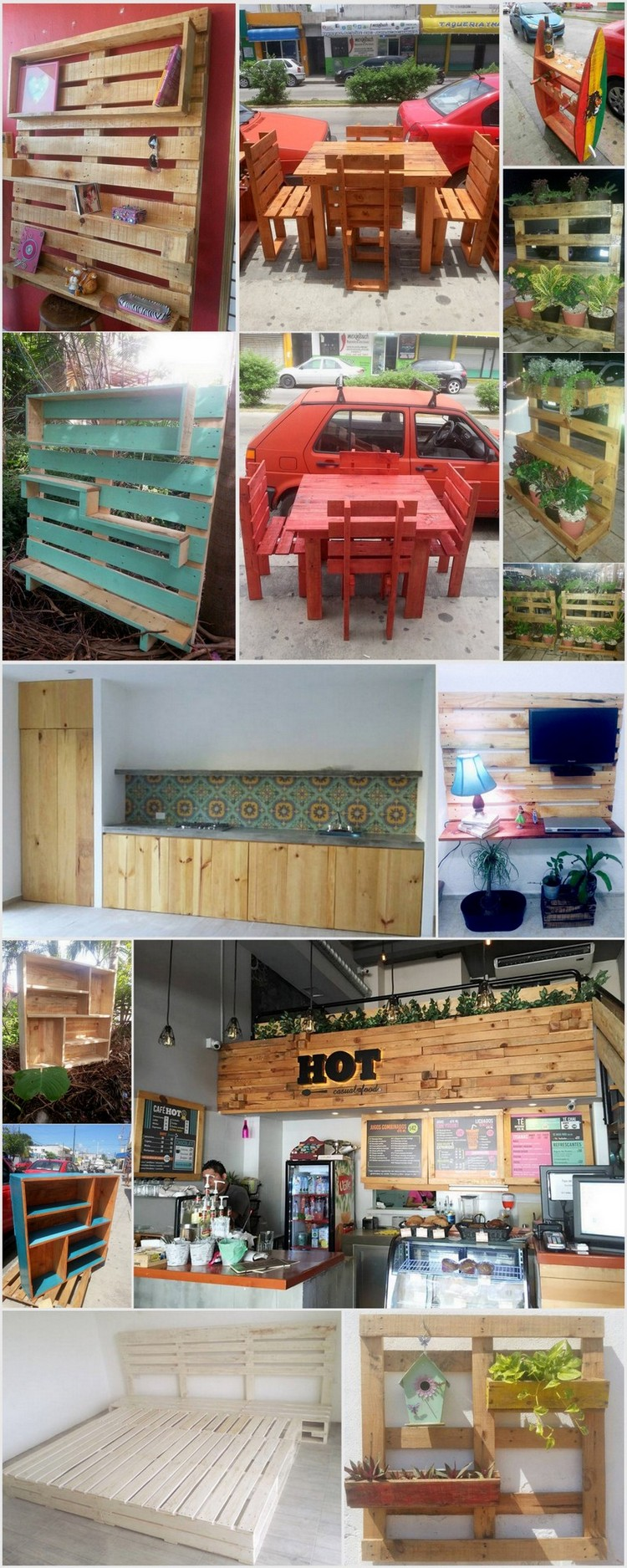 Creative Wood Pallet Repurposing Ideas