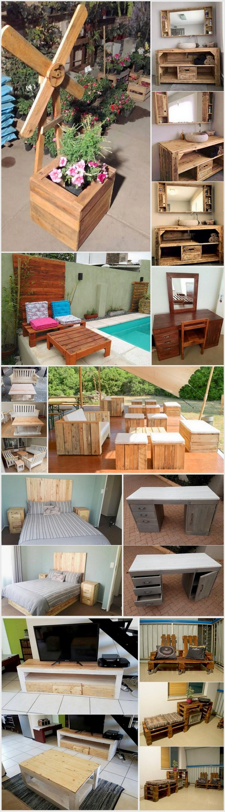 Excellent Ideas with Used Wood Pallets
