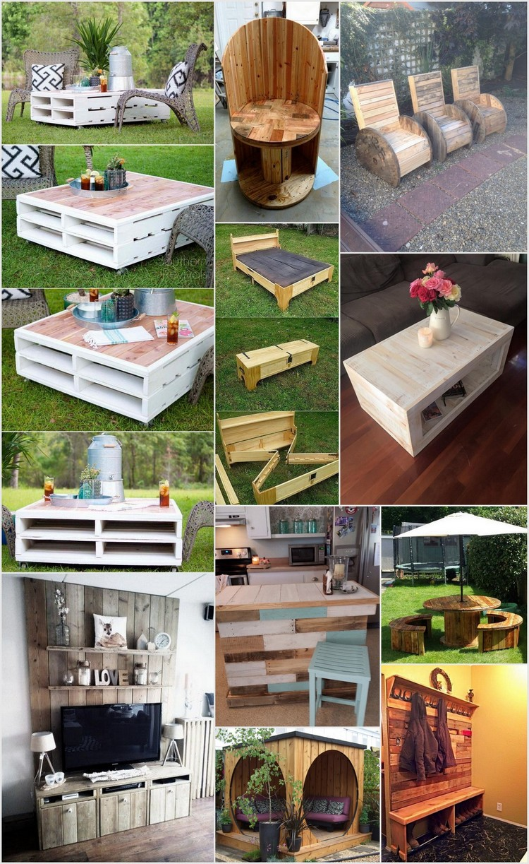 Most Easiest But Practical Recycled Pallet Ideas That Everyone Can Afford