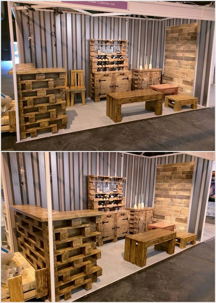 Pallet Bar Furniture