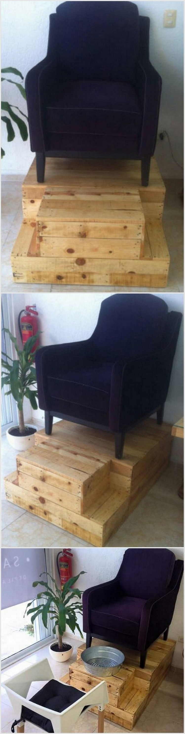 Pallet Chair Deck