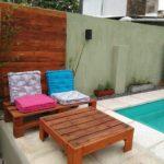 Pallet Pool Side Furniture