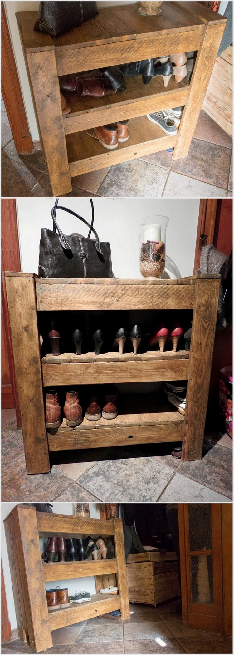 Classic ideas for wood pallet repurposing pallet wood for Repurposed pallet projects