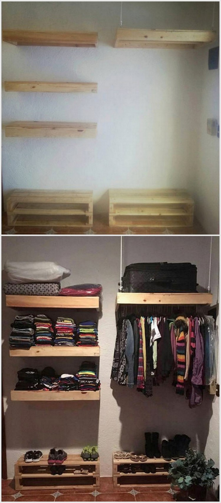 Pallet Storage Organizer