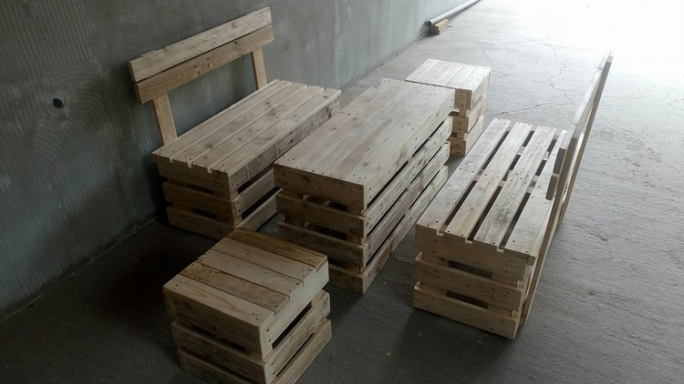 Pallet Wood Furniture Plan