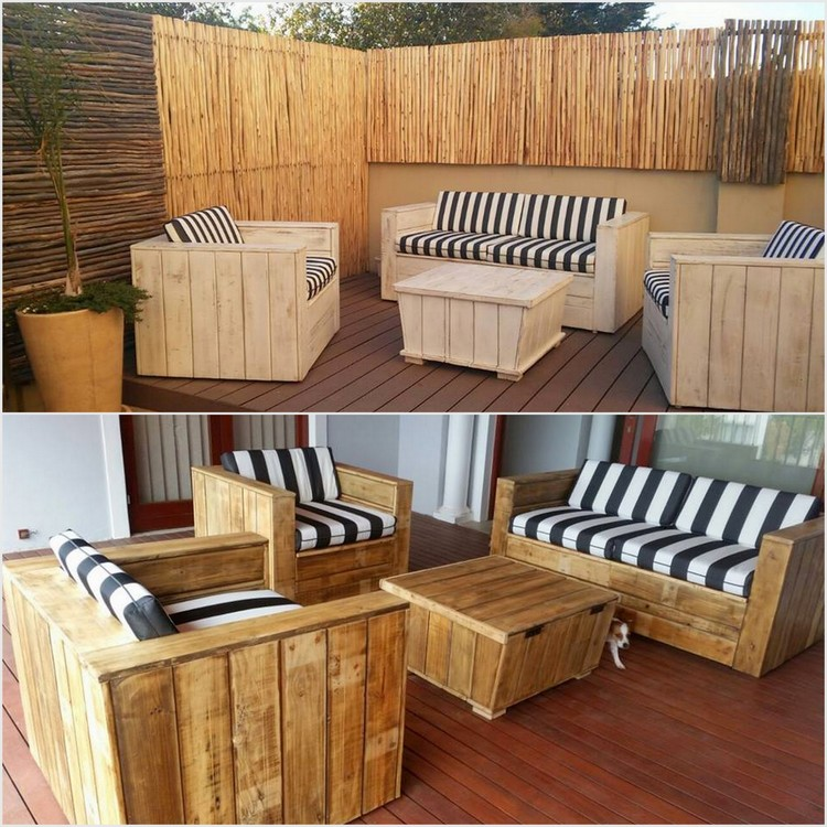 Recycled Wood Pallet Furniture