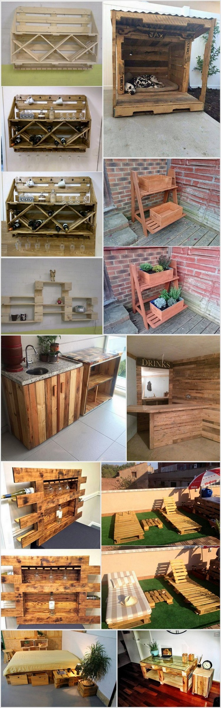 These Wooden Pallet Projects will Inspire You and Your Guests