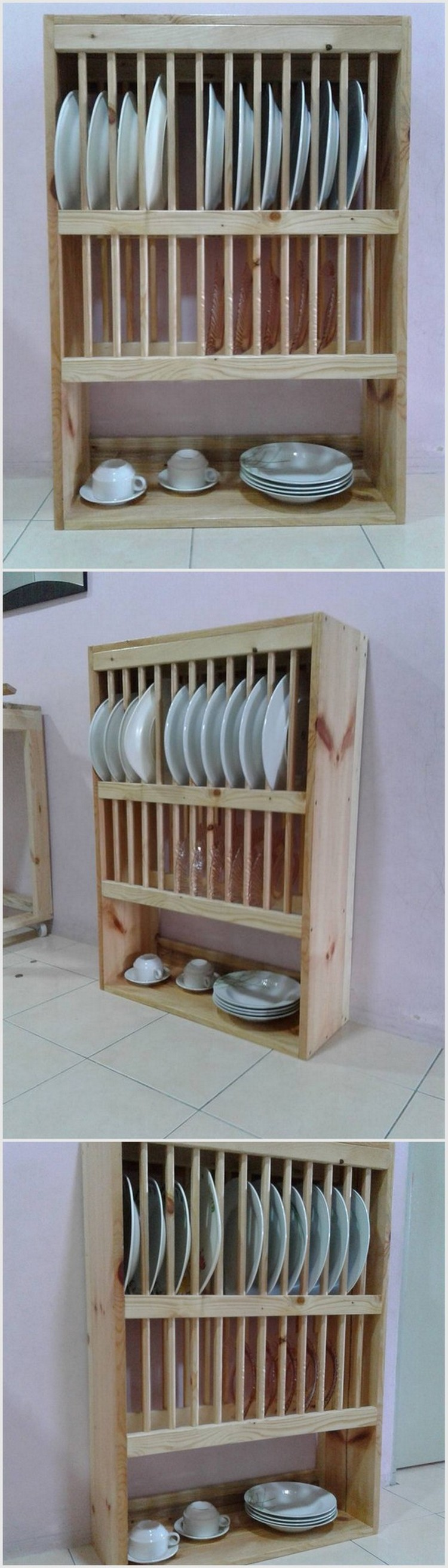 Wood Pallet Kitchen Project