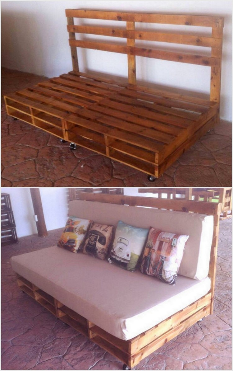 Affordable and easy wood pallet projects pallet wood for Pallet ideas