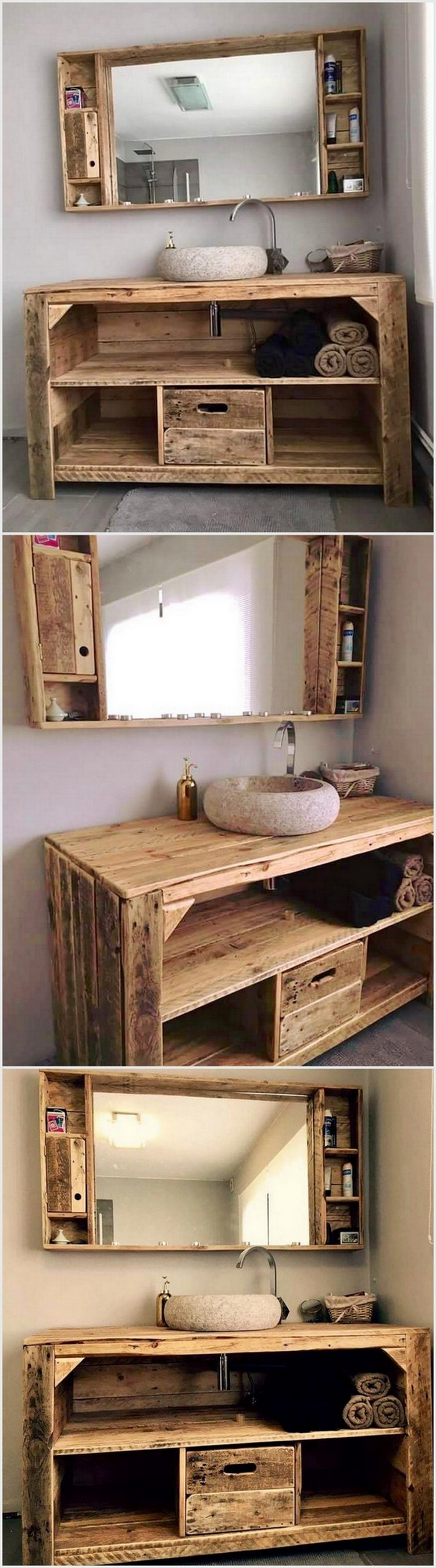 excellent ideas with used wood pallets pallet wood projects. Black Bedroom Furniture Sets. Home Design Ideas