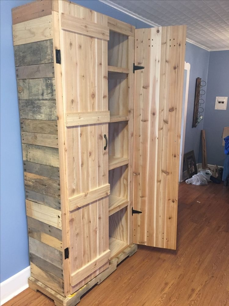 Some perfect ideas about reuse wooden pallets pallet for Armoire palette bois